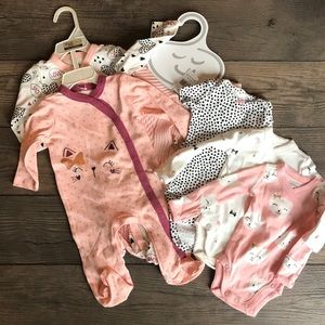 Baby girl NWT bundle newborn & 0-3 months